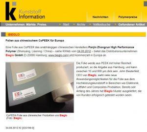 Kunststoff Information 2012