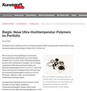 Kunststoff Web Press Release 2020