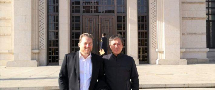 Meeting with our PEEK Raw Material Supplier Panjin Zhongrun