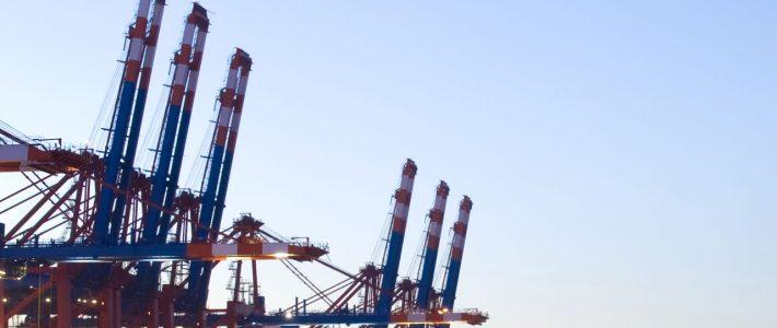 Hamburg harbour port