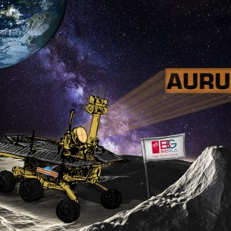 Space Project AURUM Moon thermoplastic polyimide
